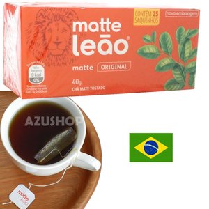 ティーバック マテ茶 ローストタイプ 25P入 ブラックマテ ブラジル ライオン印 お茶|azuselectshop
