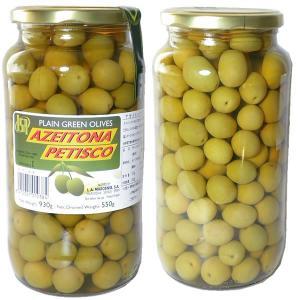 オリーブの実 種付 スペイン産 固形量550g 内容総量930g Petisco|azuselectshop
