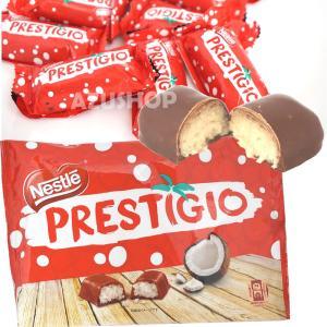 ココナッツ入りチョコレートバー プレスチージョ ネスレ 18g×10個 Nestle PRESTIGIO|azuselectshop