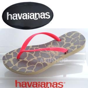 ハワイアナス スリム アニマルズ フルオ SLIM ANIMALS ピンク havaianas ビーチサンダル azuselectshop 03