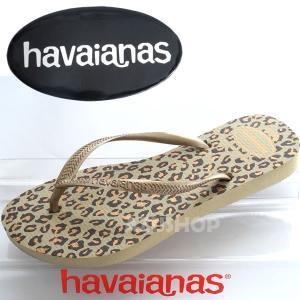 ビーチサンダル ハワイアナス スリム アニマルズ SLIM ANIMALS SandGrey havaianas 22.5cm|azuselectshop