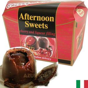 チェリー リキュール入りビターチョコ 140g Cherry&Liqueur Laica イタリア|azuselectshop