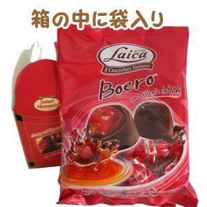 チェリー リキュール入りビターチョコ 140g Cherry&Liqueur Laica イタリア|azuselectshop|03