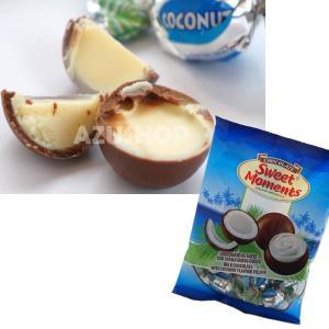 ボンボンチョコレート ココナッツ味クリームとミルクチョコレートSweet Moments 155g Laica イタリア|azuselectshop