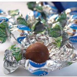 ボンボンチョコレート ココナッツ味クリームとミルクチョコレートSweet Moments 155g Laica イタリア|azuselectshop|02