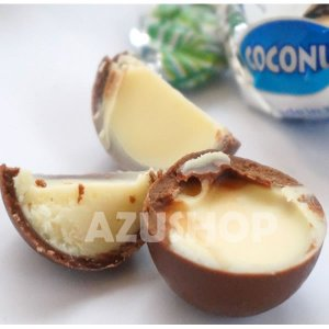 ボンボンチョコレート ココナッツ味クリームとミルクチョコレートSweet Moments 155g Laica イタリア|azuselectshop|03