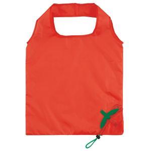 [ 在庫限り ] リンゴエコバッグ  くだもの/果物/かわいい/折りたたみ/ショッピングバッグ/買い物袋/軽量【ギフト・プレゼント・粗品・景品】