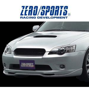 ZERO/SPORTS / ゼロスポーツ フロントグリルFRP ガンメタリック塗装仕様 レガシィB4...