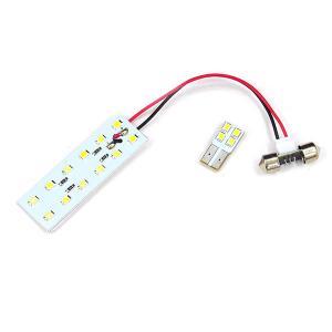 スズキ スイフト ZC13S/ZC53S/ZC83S ZD53S/ZD83S LED ルームランプ/室内灯 2点 16連 ホワイト (ネコポス送料無料) azzurri