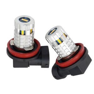LED フォグ ジムニー 後期 JB23W H17.10〜 H8 イエロー フォグランプ 48w/EPISTAR プロジェクターレンズ|azzurri