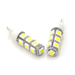 LED バルブ T10/T16 13発 3chip SMD ホワイト 2本セット 最安値挑戦★//送料無料