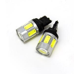 フォレスター H19.12〜 SH5 バックランプ LED T20 7.5W ショートタイプ/プロジェクターヘッド SMD 白 azzurri