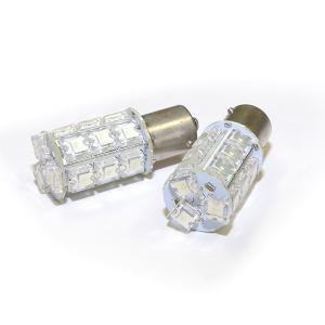 LED S25 シングル レッド/赤 18発 FLUX ブレーキランプ 2本セット 最安値挑戦★//送料無料|azzurri