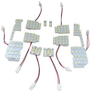 新型 30系 アルファード/ヴェルファイア 30系 LEDルームランプ 10点セット 3chip 167発|azzurri