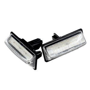 日産 ナンバー灯 LED ユニット キャラバン NV350 E26系  専用設計 純正交換タイプ 36発SMD//送料無料|azzurri