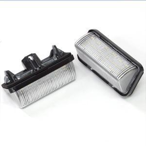 トヨタ ナンバー灯 LED ユニット 50プリウス ZVW5# ハイブリッド対応  前期用 専用設計 純正交換タイプ 2個セット 28発SMD//送料無料|azzurri