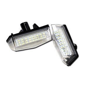 プリウスα ZVW40/41 ナンバー灯 LED ユニット 純正交換タイプ 48発SMD//送料無料|azzurri