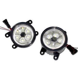 スペーシアカスタム MK32S LEDフォグランプ 12発36W ユニット CCFLイカリング ホワイト  //送料無料|azzurri