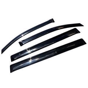 ステップワゴン RK1-6 ドアバイザー/サイドバイザー ホンダ 金具付/W固定/新品|azzurri