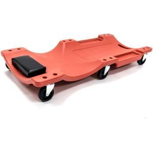 メカニック クリーパー プラスチック 低床クリーパー 6輪 キャスター付き 寝板 低床 自在車輪