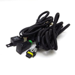 デイズハイウェイスター B21W 後付 フォグ リレー ハーネス LEDスイッチ付/H8 H11 H16 //送料無料|azzurri