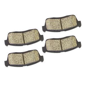 ブレーキパッド ミラ L250S/L260S(R/RS ベンチディスク車) L275S(カスタムRS VSC付) 純正同等品 フロント 4枚 1セット 純正品番 04465-B1010|azzurri
