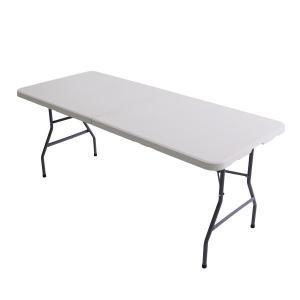折りたたみ 作業台 テーブル アウトドアテーブル レジャー 長さ180cm 幅76c 高さ74cm【送料無料】|azzurri