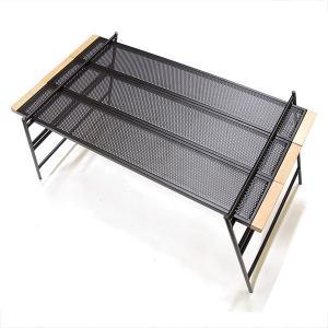 多機能テーブル 組み立て自在! テーブル・調理台・ラックなどに変形 アウトドアにも最適 収納バッグ付...