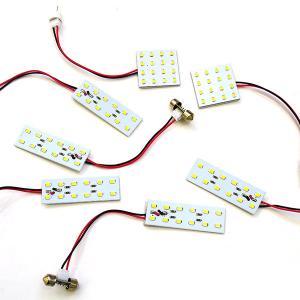 エルグランド E52 LED ルームランプ/室内灯 7点 92連 ホワイト (ネコポス送料無料)|azzurri