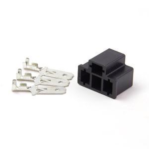 汎用 H4 3極コネクター オス端子セット 黒 カプラー ヘッドライト 1個 (ネコポス送料無料) azzurri