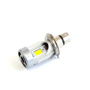 バイク用 H4 LEDバルブ H4Hi/Lo 切り替えタイプ 6500K オールインワン一体型 直流 1個|azzurri