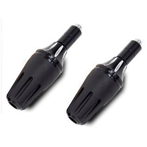 マフラー エンジンガード スライダー プロテクター ブラック バイク/汎用|azzurri
