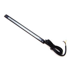 バイク LEDラバーテール 汎用/ウインカー付き/32発 フレキシブルテールランプ 幅14mm|azzurri