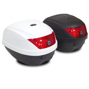 バイク リアボックス (28L) カギ&アタッチメント付き 2色 トップケース リアボックス/大容量|azzurri