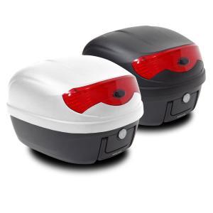 バイク リアボックス (29L) カギ&アタッチメント付き 2色 トップケース リアボックス/大容量|azzurri