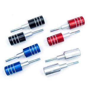 アルミ エンジンスライダー バイク用 エンジンガード 汎用タイプ 2本【色選択】|azzurri