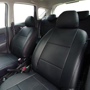 ◆高級感・機能性を備えたこだわりの品質◆  艶やかな高品質PVCレザーを使用したシートカバーセットで...
