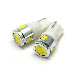 LED バルブ T10/T16 ウェッジ球 2.5W ヒートシンク 4連 ホワイト/白 //送料無料 azzurri