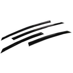 プリウス 30 前期/後期 ドアバイザー/サイドバイザー トヨタ 金具付/W固定/新品|azzurri