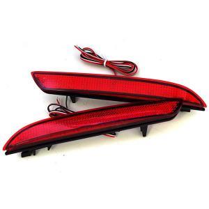 ステップワゴン RG1〜4 LED リフレクター ランプ LED リフレクター レッドタイプ リアリフレクター|azzurri