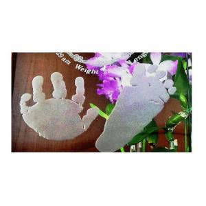 赤ちゃん 手形 足形 スタンプ 出産祝い 内祝い 名入れ 記念品 送料無料|b-breath|05