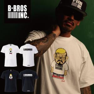 BUSH BROS DESIGN(ブッシュブロスデザイン) 半袖 Tシャツ CRUSHER S/S TEE(BBD-SS005) ストリート系 B系 大きいサイズ|b-bros
