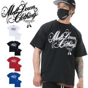 MELTDOWN(メルトダウン) Tシャツ SCRIPT S/S TEE(MD18SS-SS01) ストリート系 B系 大きいサイズ|b-bros