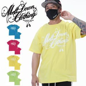 MELTDOWN(メルトダウン) Tシャツ VITAMIN SCRIPT S/S TEE(MD18SS-SS03) ストリート系 B系 大きいサイズ|b-bros