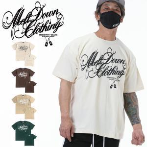 MELTDOWN(メルトダウン) Tシャツ NATURE SCRIPT S/S TEE(MD18SS-SS04) ストリート系 B系 大きいサイズ|b-bros