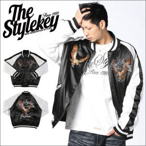 STYLEKEY(スタイルキー) スカジャン HUNTING SUKAJAN (SK15FW-JK05) ストリート系 B系 大きいサイズ b-bros