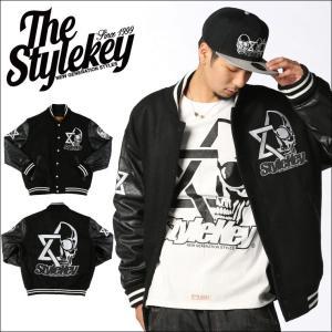 STYLEKEY(スタイルキー) スタジアムジャケット COALITION STADIUM JACKET(SK15FW-JK07) ストリート系 B系 大きいサイズ|b-bros