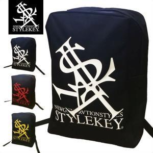 STYLEKEY(スタイルキー) リュック ROYAL LOGO BACKPACK(SK16FW-BG02) ストリート系 B系 大きいサイズ|b-bros