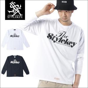 STYLEKEY(スタイルキー) 長袖Tシャツ SWEET LOGO L/S TEE(SK17FW-LS01) ストリート系 B系 大きいサイズ|b-bros