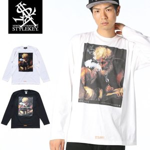 STYLEKEY(スタイルキー) 長袖Tシャツ DIALOG L/S TEE(SK17FW-LS10) ストリート系 B系 大きいサイズ|b-bros